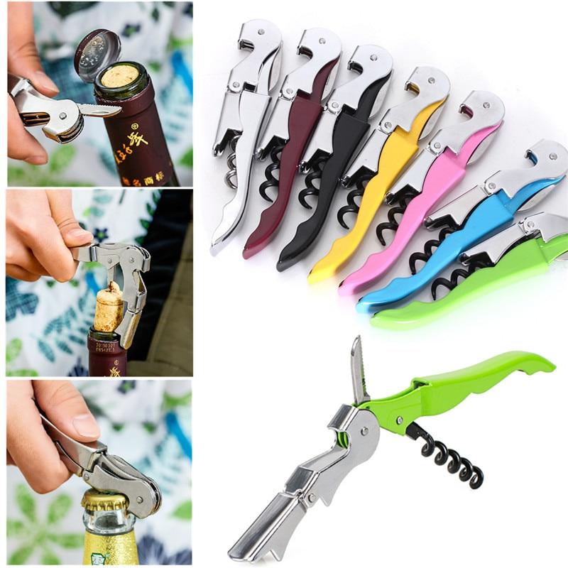 Multifunction Hippocampus knife Wine Screw Corkscrew Opener Household Accessories Wine Champagne beer Grape Wine Bottle Opener