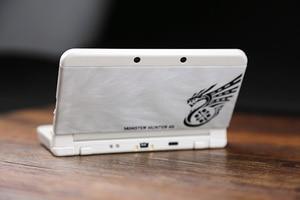Image 2 - Защитный чехол для консоли Kacosata MH4, чехол для Monster Hunter 4G, чехол для Nintendo NEW 3DS, пластиковый корпус