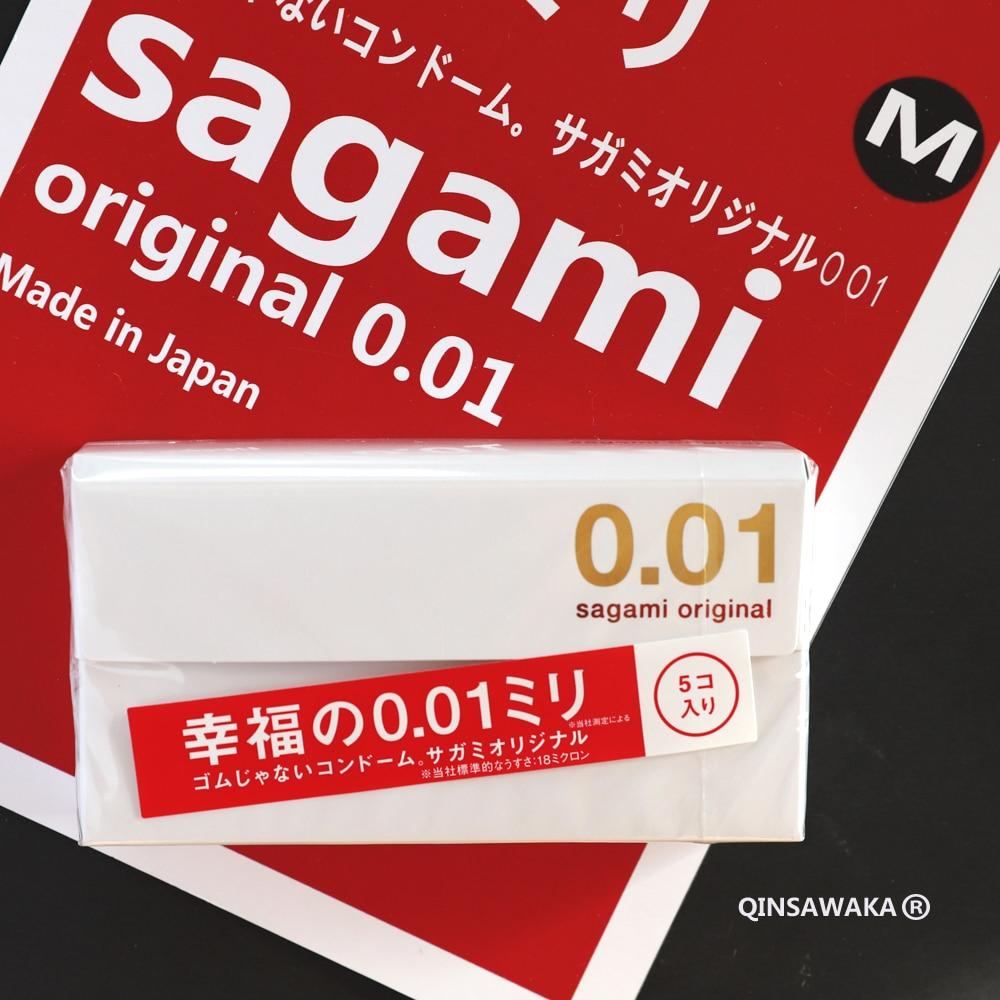 Презервативы SAGAMI мужские ультратонкие, материал: полиуретан, 5 шт.