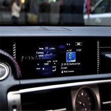 Carbon Fiber Central Control Air Outlet Car Sticker 3D for Lexus IS250 300H Auto Interior Decoration Car Styling Accessories