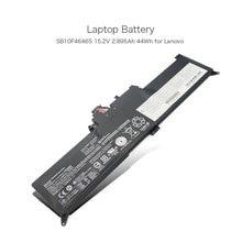 15.2 V 2.895Ah 44Wh batterie ordinateur portable pour Lenovo ThinkPad Yoga 260 Série 00HW027 00HW026 SB10F46464 SB10F46465 Li-ion Batterie