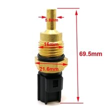 For Mitsubishi Colt Galant pajero montero L200 OEM#ME202053 Car Styling Glow Plug Engine Water Coolant Temperature Sensor