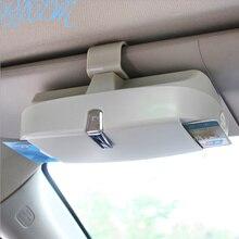 Caja de almacenamiento de gafas de sol para Volkswagen vw polo golf 4 5 6 7 passat B5 B6 t5 accesorios de automóvil