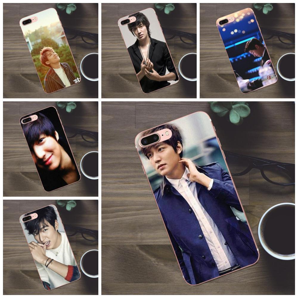 Corea Super estrella Lee Min Ho para Huawei G8 Honor 5C 5X6 6X7 8 9 Y5II mate 9 P7 P8 P9 P10 P20 Lite Plus 2017 suave mejor de los casos