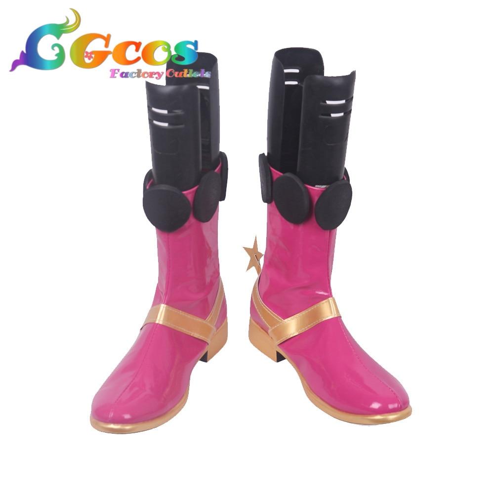 CGCOS envío gratis zapatos de Cosplay Zoé botas Anime juego Halloween Navidad