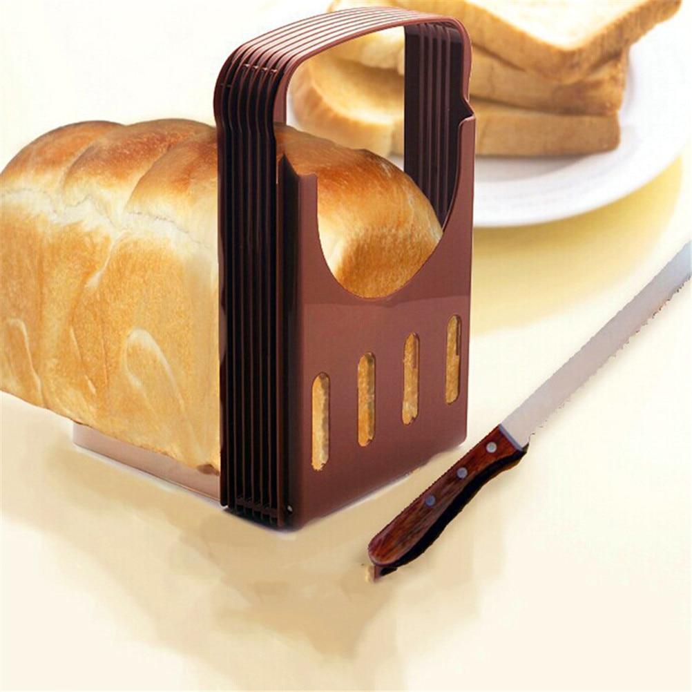 Идеальная кухонная хлебная булочка для резки хлеба-Точная резка с направляющими для нарезки-4 ломтика толщины
