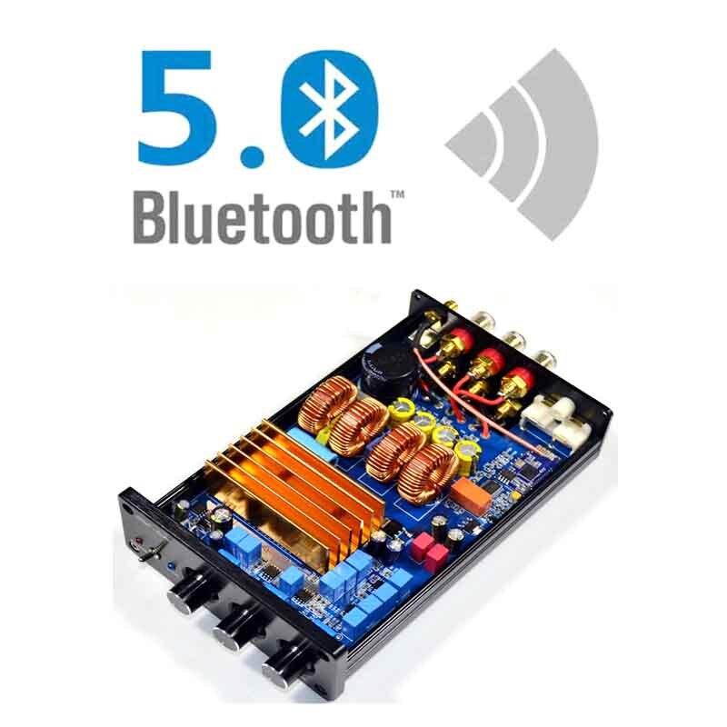 KYYSLB TPA3255 240W 325W 2.1 Home Audio 4.2 5.0 Bluetooth Amplifier High Power Class D HIFI Digital Amplifier IS1864S QCC3003