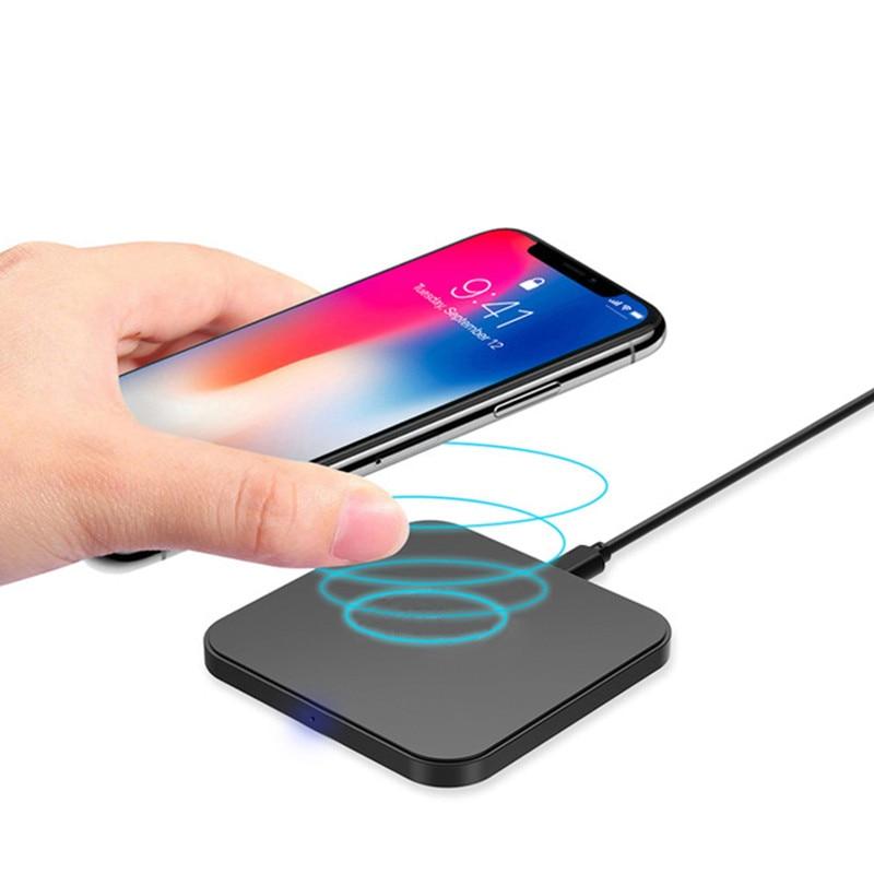 Qi Wireless Pad Carregador Rápido Fo Apple Iphone Xs Max XR Caso Acessório Do Telefone Móvel de Carregamento Pad universal Para IphoneXS iphoneXS