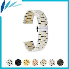 Stainless Steel Watch Band 20mm 22mm for Diesel Watchband Quick Release Metal Strap Loop Wrist Belt Bracelet Black Silver Gold