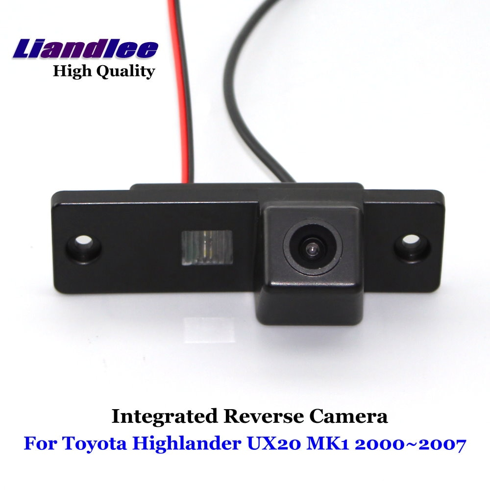 Car Rear View Camera For Toyota Highlander UX20 MK1 2000--2007 2008 2002 2003 2004 Reverse Camera Full HD CCD Car Accesories