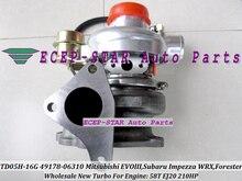 Турбокомпрессор TD05-16G 49178-06310 49178-06300 14412AA092 для Mitsubishi EVO 3 III, для SUBARU impecza WRX Forester 58T 2.0L