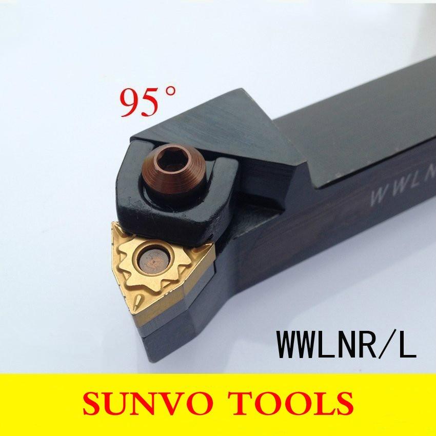 WWLNR WWLNL External turning tools WWLNR2020K08/WWLNL2020K08 WNM080404/WNMG040408 inserts tool Holder For