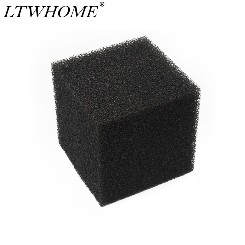 LTWHOME 8 pulgadas Filtro de estanque grueso Cubo de espuma bloque bomba Pre filtro esponja