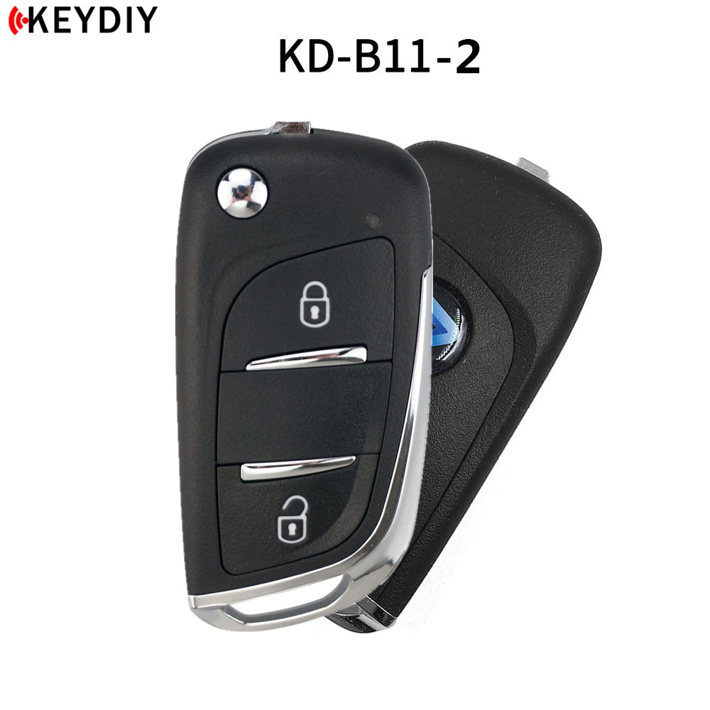 KEYDIY 10 uds, 2/3B B11/B11-2 KD900/KD-X2/URG200 programador clave serie B mando a distancia DS stytle para KD MINI generador remoto
