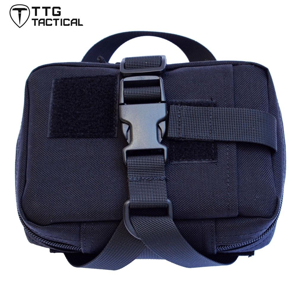 TTGTACTICAL Rip-Away EMT Pouch IFAK Detachable Combat First Aid Utility Tactical IFAK Bag