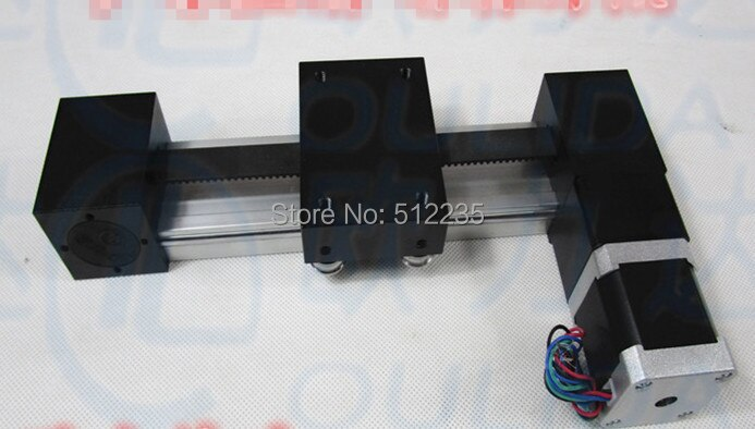 XP зубчатый ремень скользящий модуль раздвижной стол эффективный ход 300 мм + 1 шт. nema 17 шаговый двигатель XYZ оси линейного движения