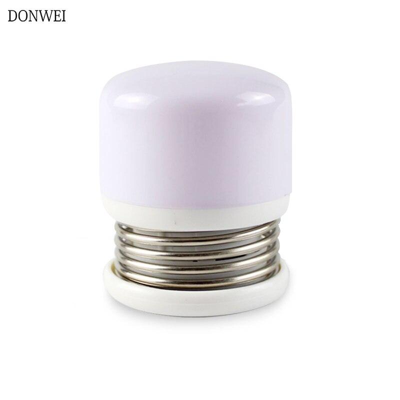 Interruptor de prensa de primavera portátil led lámpara de luz nocturna magnética portátil cama de alimentación gabinete luces dormitorio sala de estar Luz