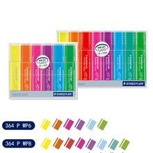 STAEDTLER 4/6/8 stylo de marqueur de note fluorescent de bureau dapprentissage de couleur stylo léger élevé