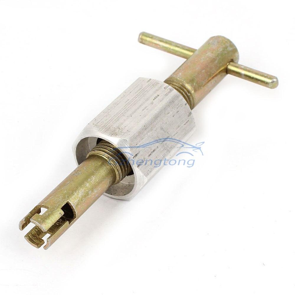 Automotive klimaanlage Expansionsventil Schlüssel Gas Removal Tool R134a Automotive Klimaanlage Reparatur-werkzeuge