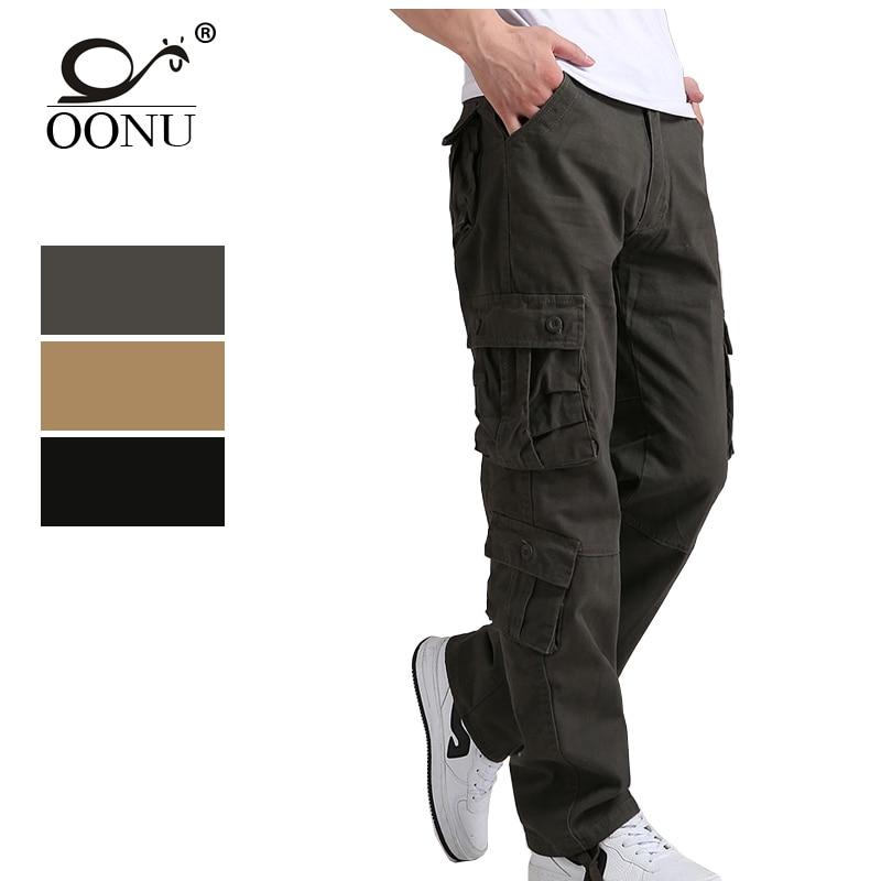 YOLAO 30-44, pantalones Cargo de alta calidad para hombres, pantalones militares casuales para hombres, monos, pantalones tácticos, pantalones de camuflaje para hombres, moda J8