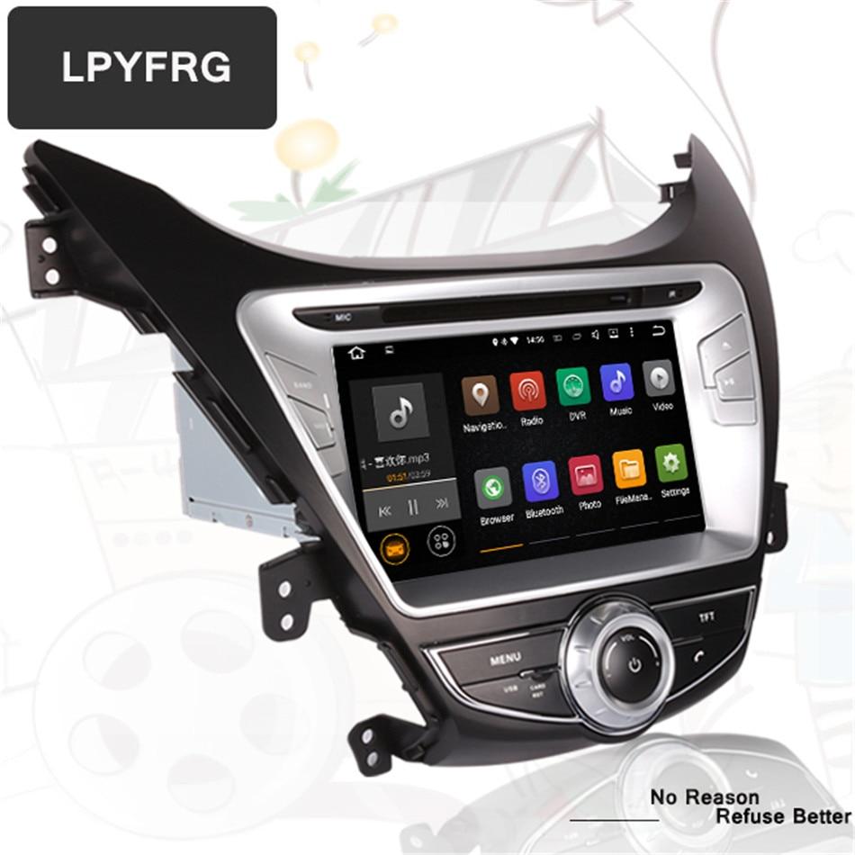 car dvd player for HYUNDAI elantra IX35 2012 2011 2013 Head units octa core android 10.0 4G RAM gps Navigation / radio system