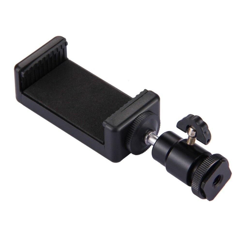 "10pcs Mini Ball Head 1/4"" mount with Lock Hot Shot Adapter with phone holder for Camera LED Light Flash Bracket Holder Mount"