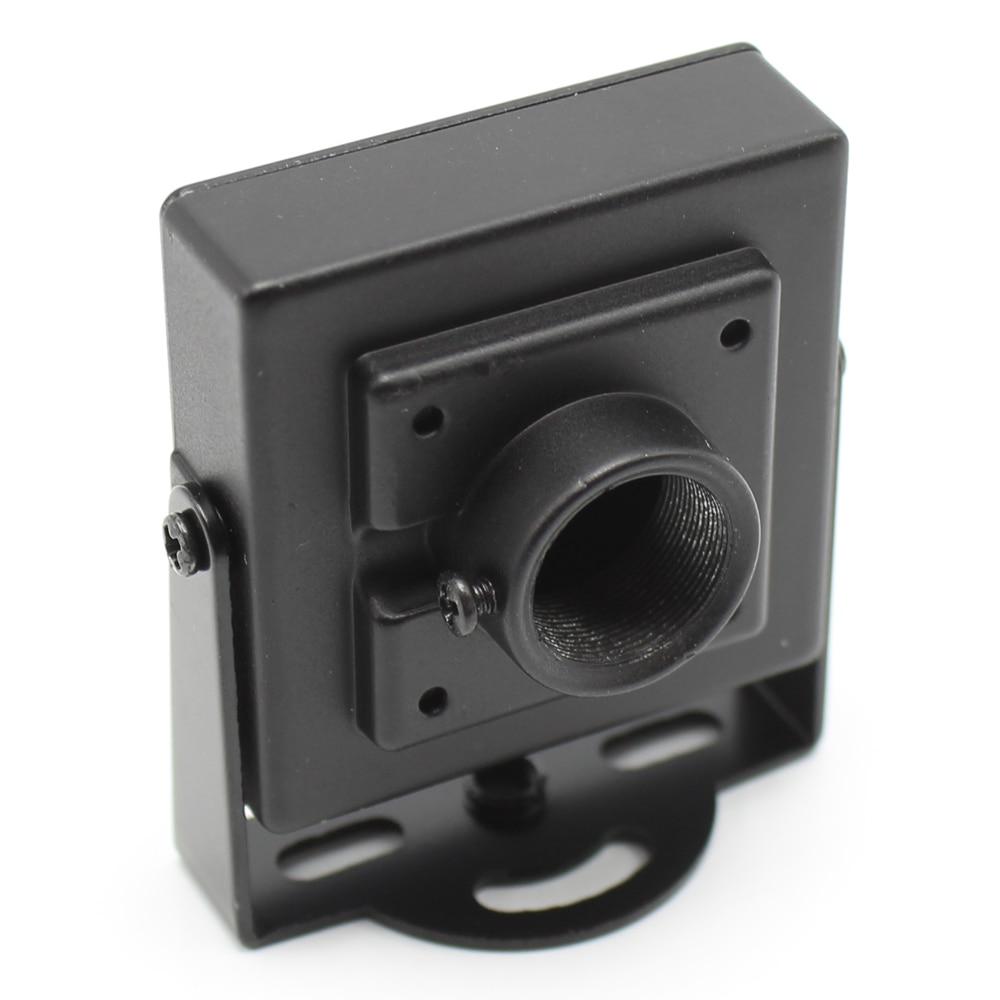 DIY CCTV Metal Mini Box Camera Housing Cover Case For Indoor Camera sony ccd AHD 1080P IP Camera PCB dvr Surveillance System