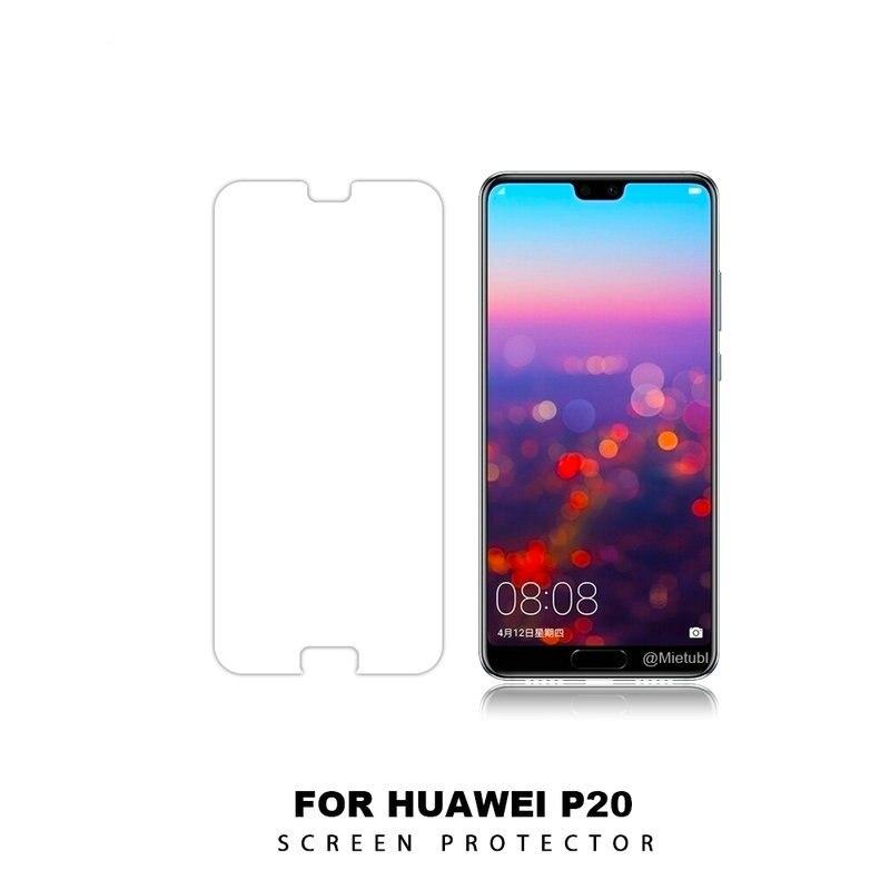 Película protectora de pantalla de vidrio templado para Huawei P20, EML-L09 de EML-L29 para Huawei P20 Pro, Protector de vidrio CLT-L04 para CLT-L09