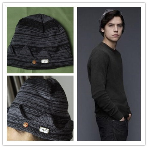 Riverdale Jughead Jones Cosplay octogonal sombrero boina de lana