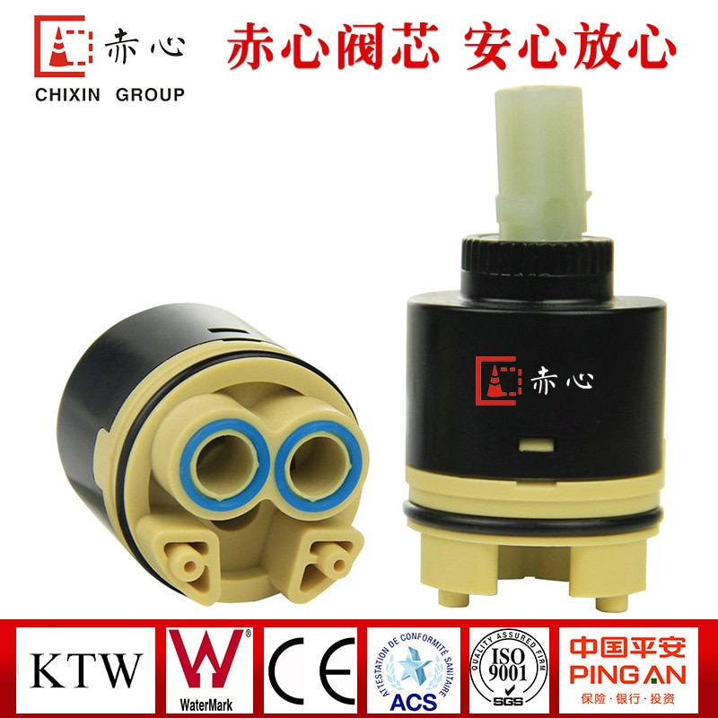 Mass production 40mm high spool 40 spool 40 single seal ceramic spool manufacturers selling