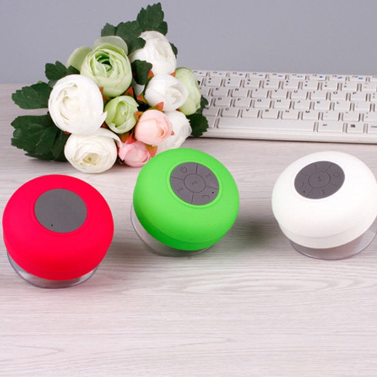 Mini altavoz portátil impermeable Bluetooth para la ducha/Altavoz del coche con reproductor estéreo de música MP3