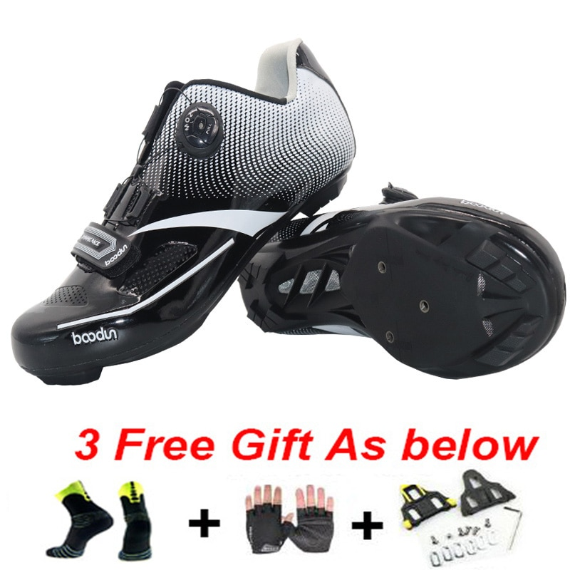 Zapatos de bicicleta Boodun, zapatos de Ciclismo de carretera para hombre, zapatos de bicicleta de montaña Sapatilha Ciclismo Mtb Sepatu Mtb para mujeres y hombres