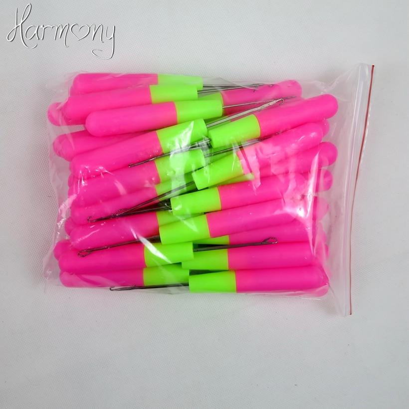 30 штук в наличии пластиковые спицы для вязания и вязания крючком для Джамбо плетения волос и ткачества дредлока