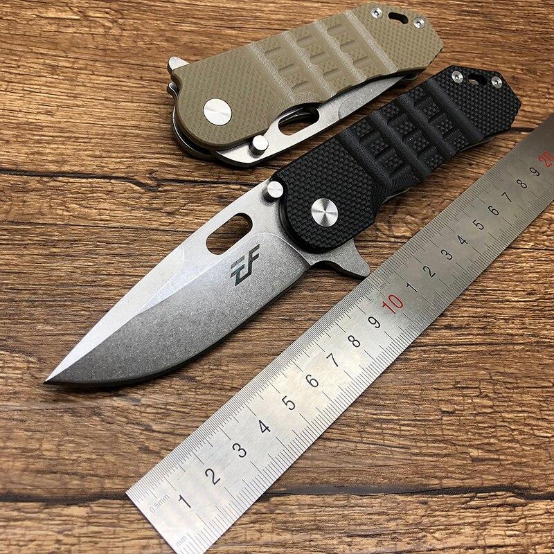 BMT D2 EF36 faca dobrável lâmina do rolamento de esferas G10 handle Tactical Survival faca Flipper camping bolso facas de caça ao ar livre