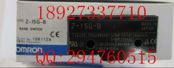 [ZOB] поставка новых импортных микропереключателей OMRON Omron, Z 15G B 10 шт./лот