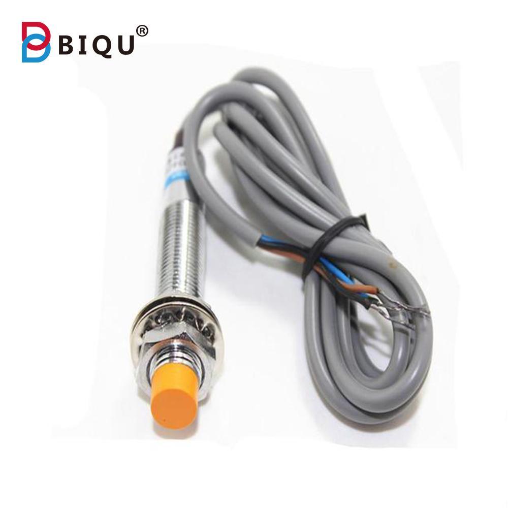 High quality adjunt NPN DC6-24V  LJ12A3-4-Z/BX  Inductive sensor  NPN  Sensor Induction Proximity Switch 22 For 3D printer parts