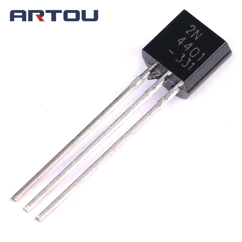 100 Uds 2N4401 TO92 a 92 4401 Transistor triodo TO92-2N4401