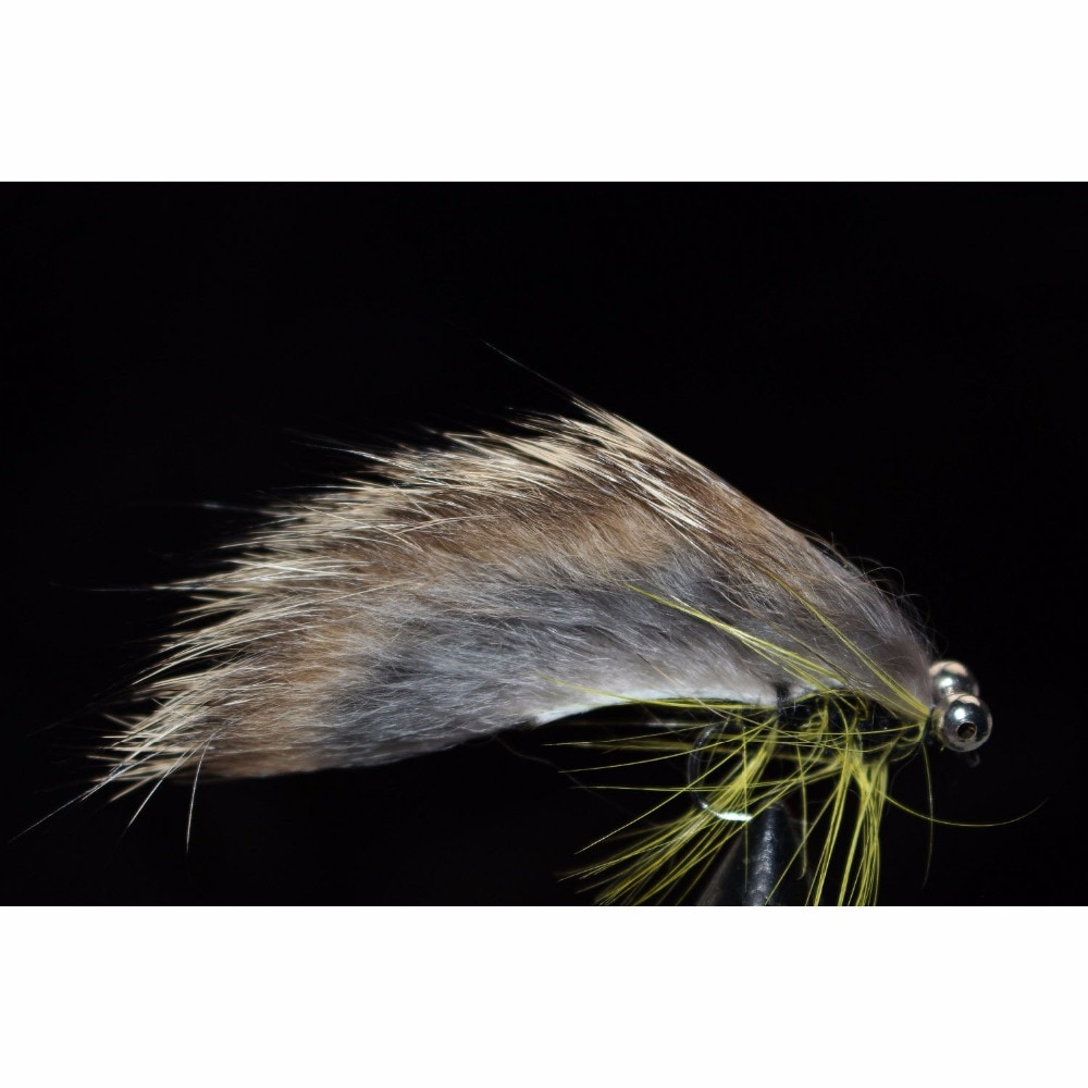 Купить с кэшбэком Tigofly 12 pcs Colors Assorted Zonker Streamers Trout Fly Fishing Flies Lures Fly Set-Size #6