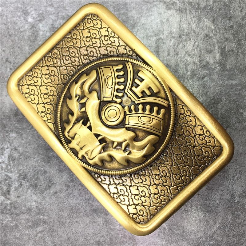 Beastmaster Solid Brass Belt Buckle Personality Man Belt Buckle DIY Accessories For Men Leather Belt BK0583