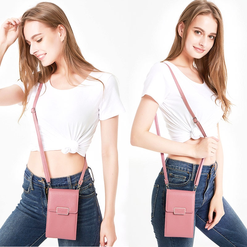 Woman Phone Bag Case For HUAWEI P20 Pro Honor 9 Lite 7X 6A Girl Messenger Leather Crossbody Bag Zipper Wallet Cover Card Holder
