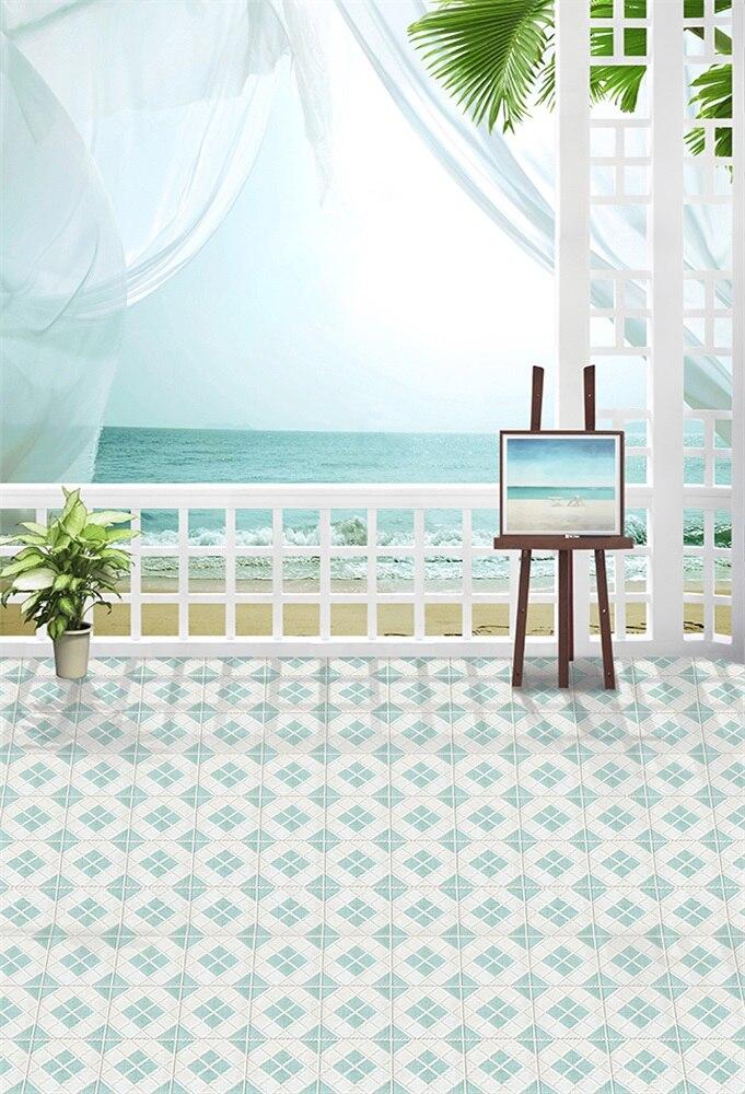 Laeacco pintura el mar miniatura árbol retrato fondos fotográficos personalizados fondos fotográficos para estudio fotográfico