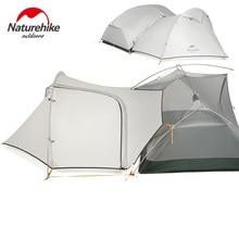 Vestibule de tente de randonnée naturelle pour Mongar 2 (non inclus tente Mongar 2)