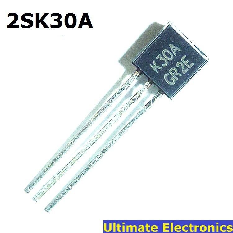 50 Uds 2SK30A -GR K30A MOS efecto de campo Transistor a-92