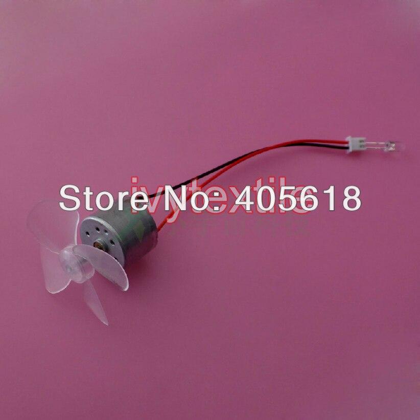 2 piezas DC 0,1 V-12 V 12 V 3000 rpm Micro generador de energía eólica para DIY modelo de generador de CC