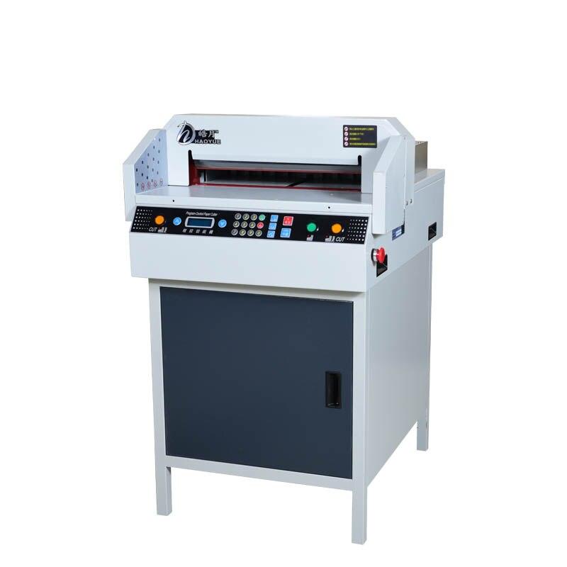 Cortador de papel eléctrico automático NC, cortador de papel tamaño A3, máquina de corte de papel digital, cortador de papel 110v/220v 1 pieza