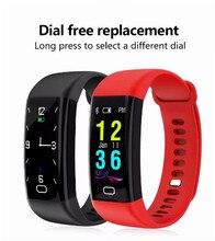 Reloj deportivo pulsera mart monitor de ritmo cardíaco presión arterial oxígeno Fitness rastreador pulsera smartband