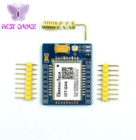 5PCS mini A6 Kit Placa Do Módulo de Extensão Sem Fio GSM GPRS Antena Loja para SIM800L Testado Em Todo O Mundo
