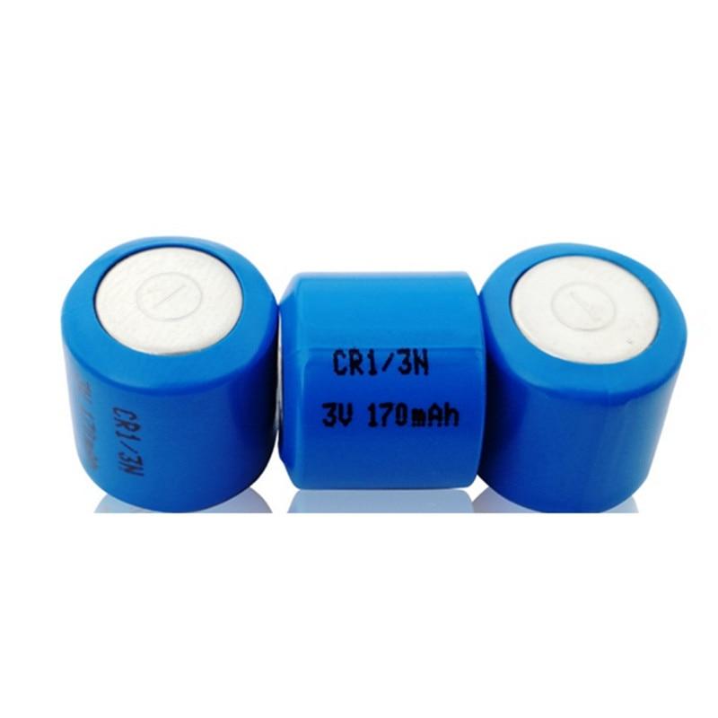 Bateria de lítio 3v cr1/3n cr 1/3n, 160 170mah 2l76 cr11108 bateria primária seca dl1/3n 2l76 5008lc k58l limno2 Bateria de célula de botão    -
