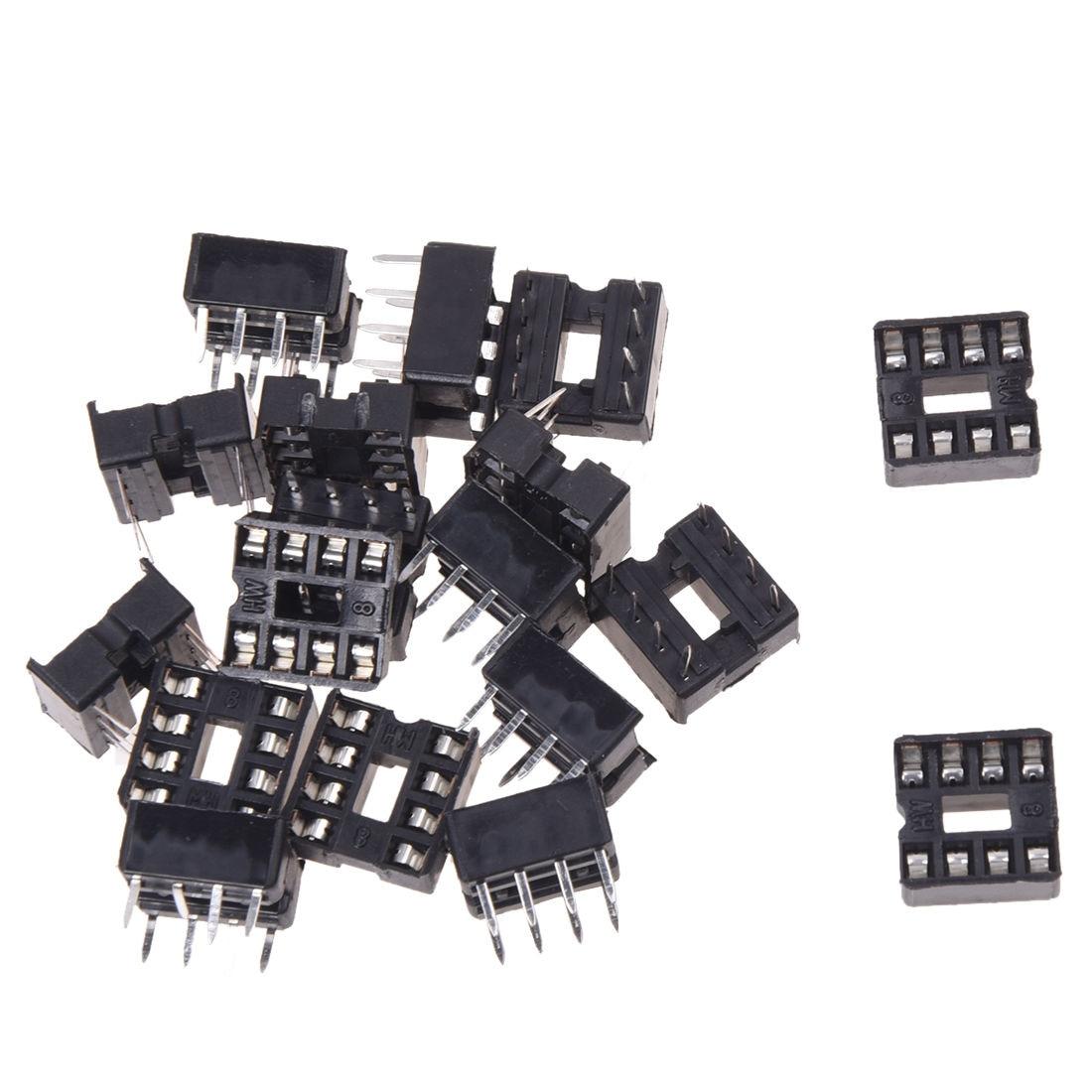Adaptador AUTO 20x8 Pin 2,54mm paso IC enchufes tipo soldadura