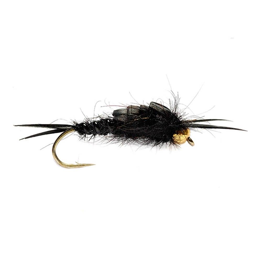 6 шт авентик бусина голова камень Нимфа мухи сухая форель насадки для рыбалки